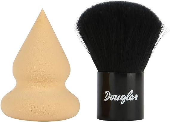 Douglas de accesorios Set contenido: 2 piezas. Douglas Blender Esponja y Douglas Mini Kabuki – Ideal para viajes o de viaje.: Amazon.es: Belleza