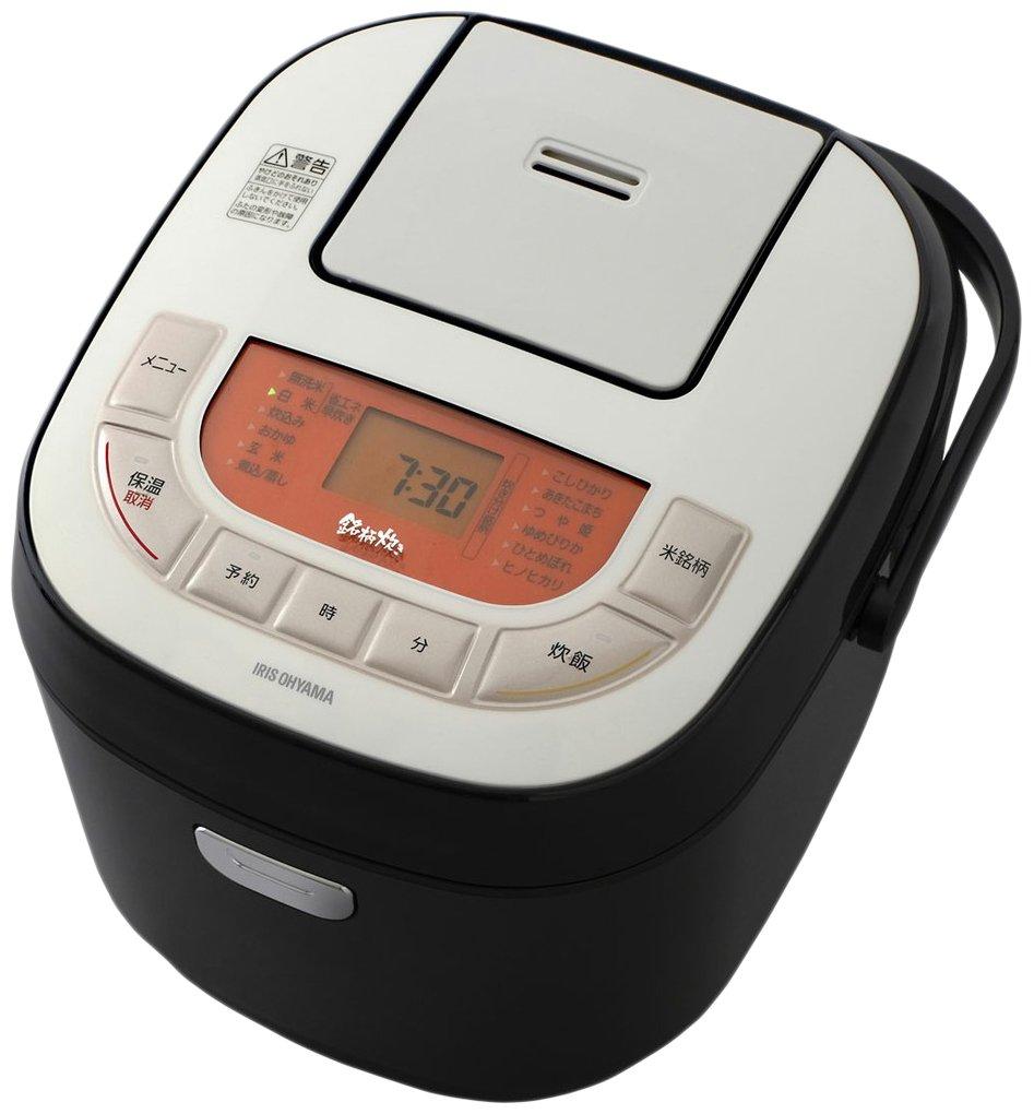 アイリスオーヤマ 炊飯器 マイコン式 1升 銘柄炊き分け機能付き RC-MB10-B   B0762SCV7H