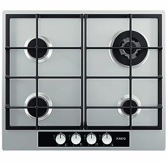 tout neuf c4c2b cd64b AEG-Electrolux HG654440SM Table de cuisson Plaques gaz ...