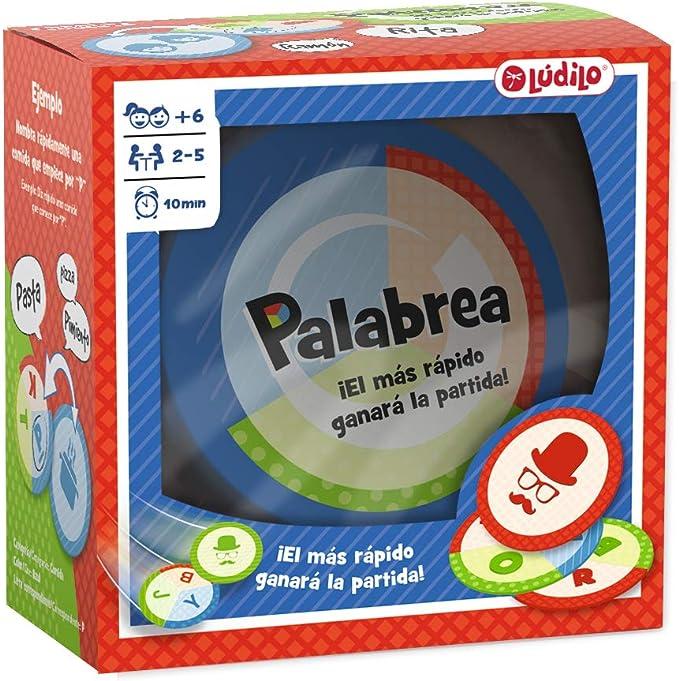 Palabrea, Juego educativo en familia de agilidad mental, Desarrollo del lenguaje (Lúdilo): Amazon.es: Juguetes y juegos