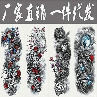 Handaxian 3 Unids Brazo Completo Tatuaje Pegatinas Impermeables ...