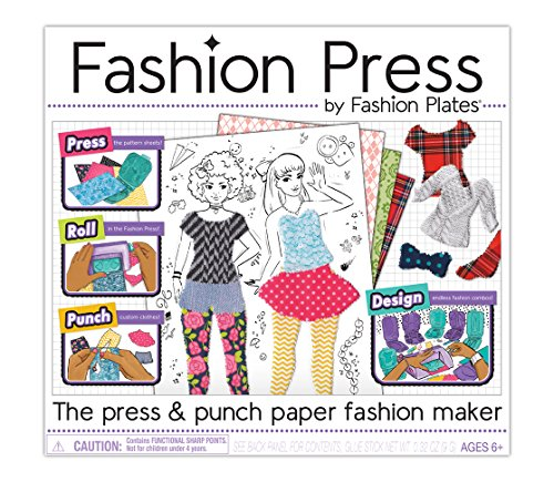 Paper Fashions - Kahootz Fashion Press Paper Fashion Maker Deluxe Activity Kit