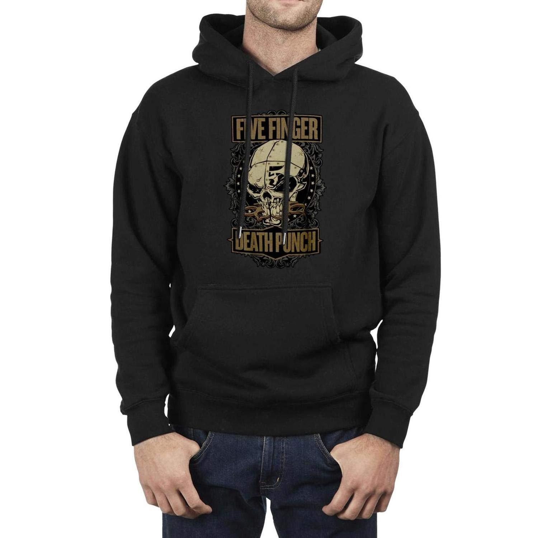 YJRTISF Big Pockets Winter Vintage Fleece Hooded Sweatshirt for Man