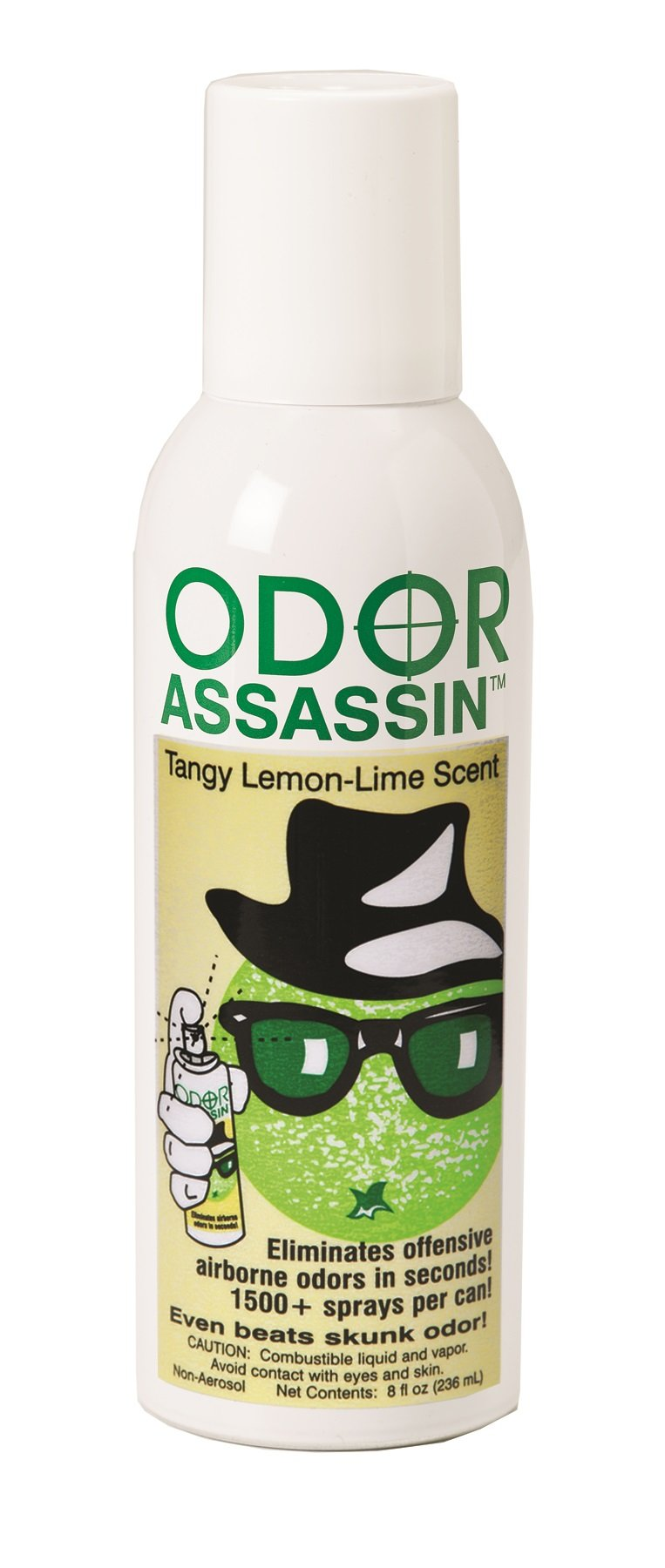 Odor Assassin Odor Control Spray, LEMON & LIME scent, Pack of 3 by JAY MFG (Image #1)