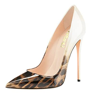 59bca565ab3e VOCOSI Pointy Toe Pumps for Women