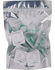 Syringe Filter, Sterile Syringe Filter, Sterile Individually Packed, PES Membrane 0.22um Pore Size, 33mm Membrane Diameter, Sterile Syringe Filter with Hydrophilic PES Membrane 10 Ps by Alberts Filter