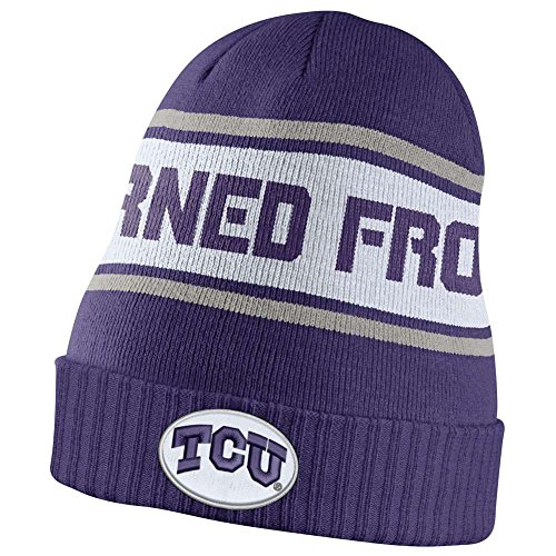 TCU Horned Frogs Dri-FIT Sideline Knit Beanie