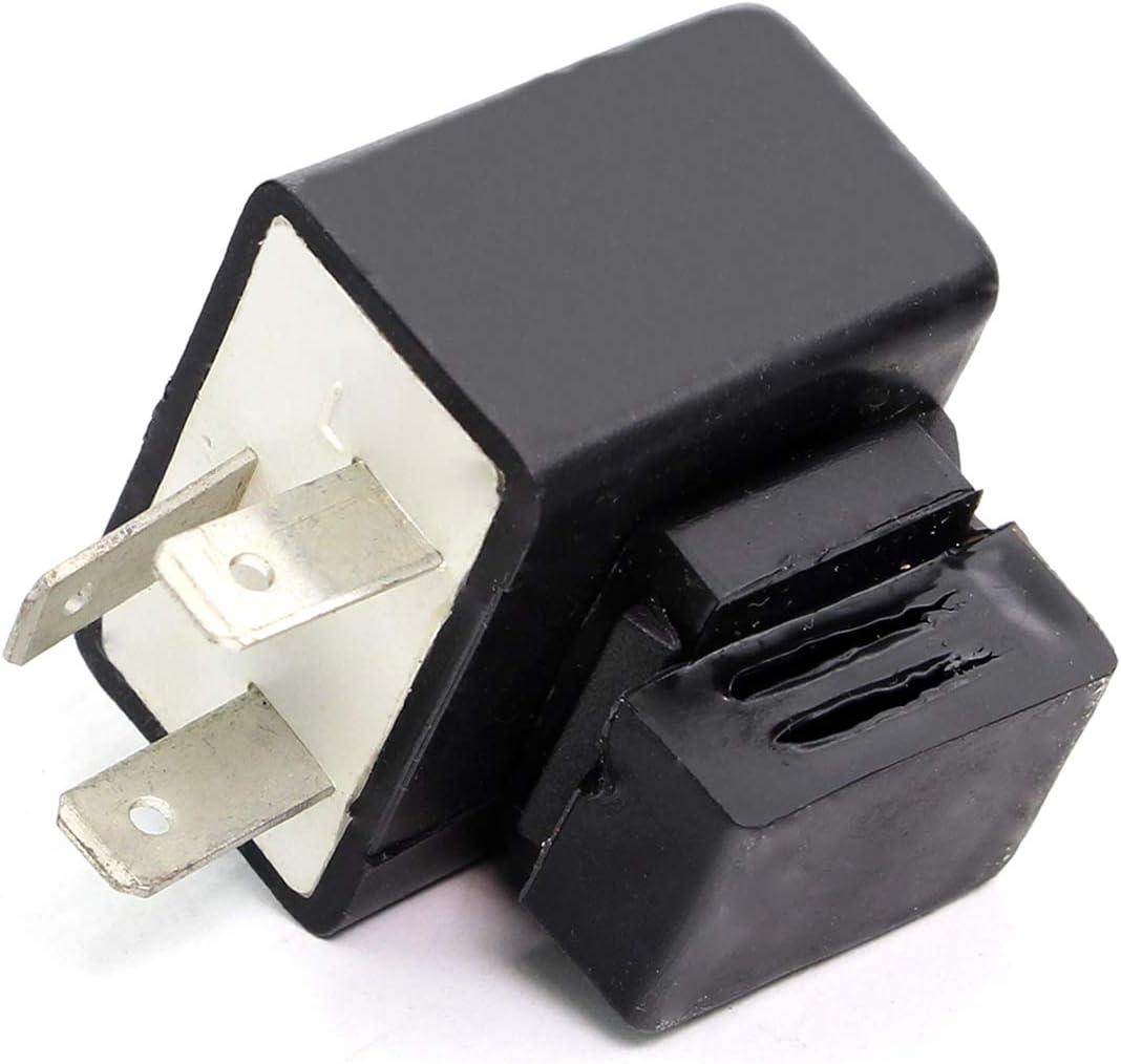 Relais de clignotant universel 3 broches num/érique 12 V pour clignotant LED