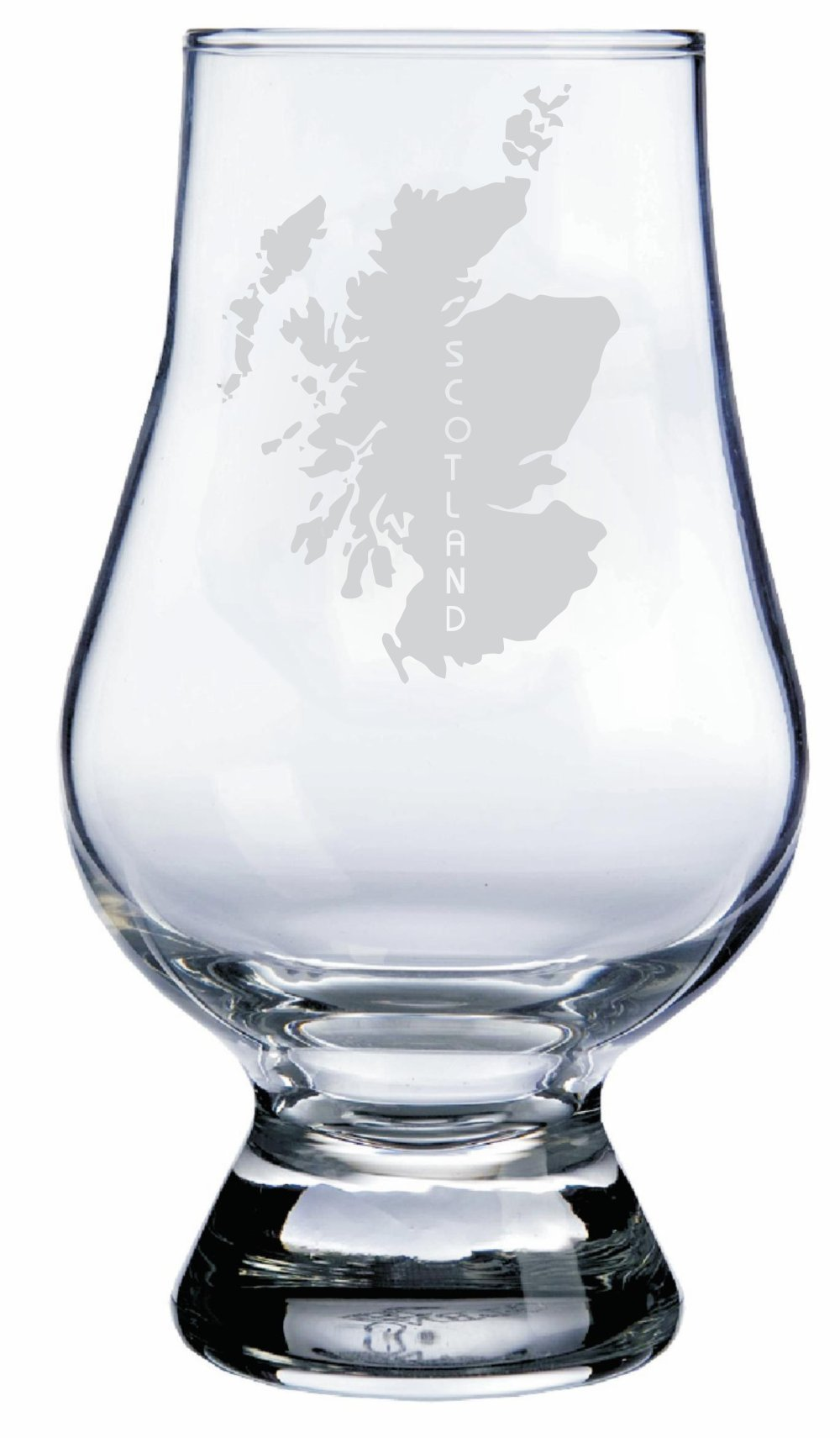 Scotland Themed Glencairn Whisky Glass