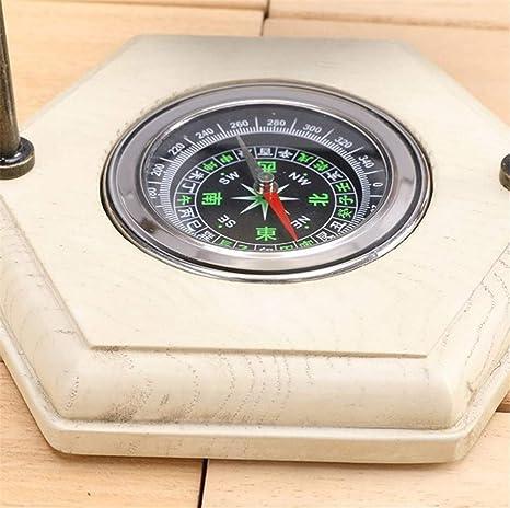 Amazon.com: 4 pack, 16X24.5cm, Rotating hourglass with compass metal antique wood sand hourglass Flip sand timer Reloj de arena temporizador da areia ...