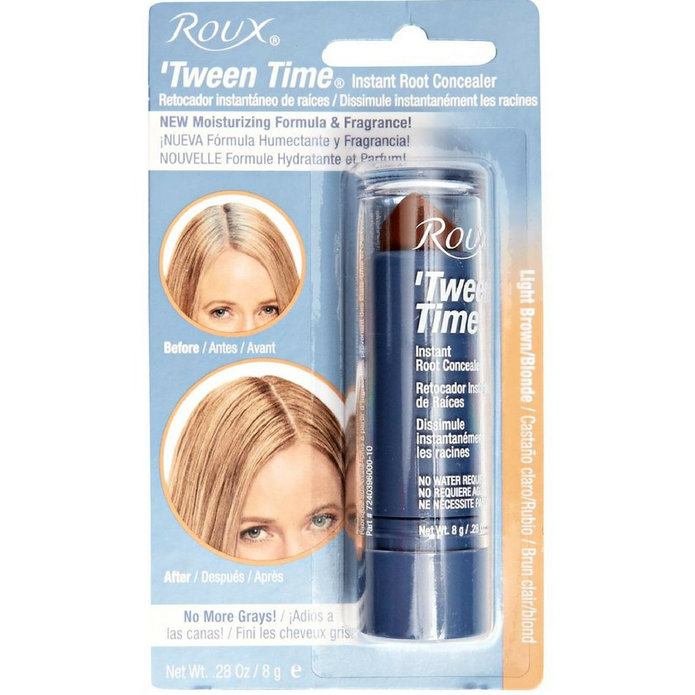 Roux 'Tween Time Instant Root Concealer, Light Brown/Blonde 1 ea (Pack of 2) by Roux
