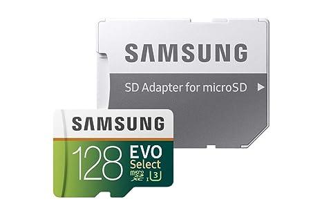 Samsung EVO Select - Tarjeta de Memoria microSDXC de 128 GB con ...