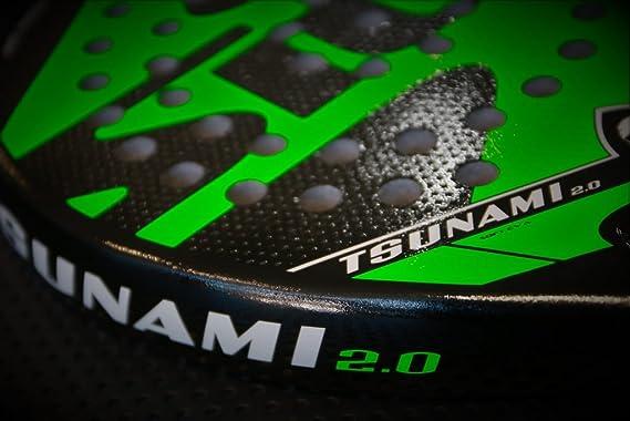 Pala padel SIUX Tsunami 2.0 verde: Amazon.es: Deportes y aire libre