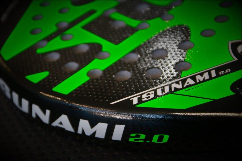 Pala padel SIUX Tsunami 2.0 verde: Amazon.es: Deportes y ...
