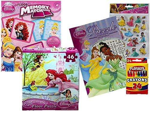 Disney Princess Puzzle, Game and Activity Set- Floor Puzzle,