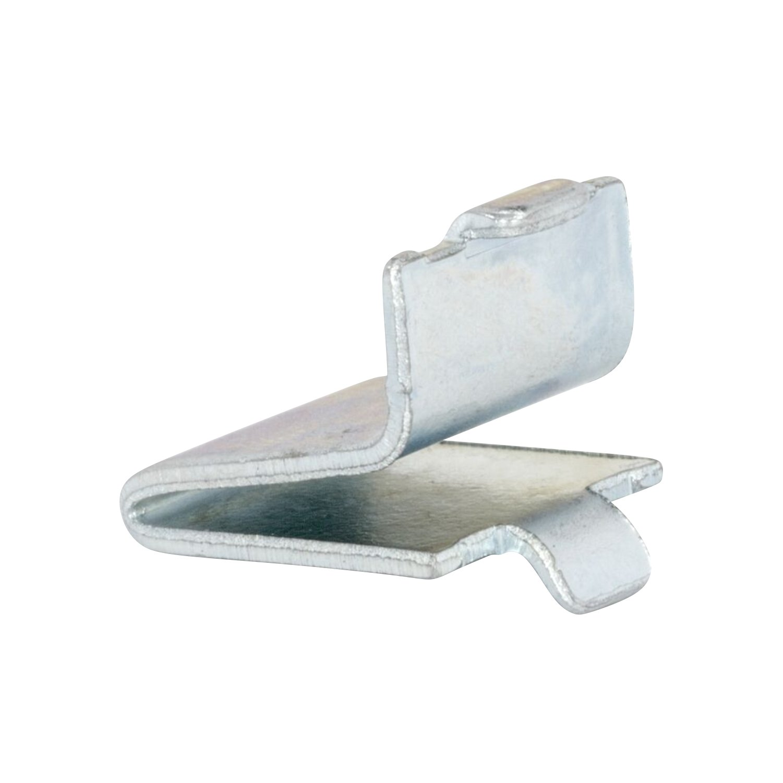 20 Pack Zinc Rok Hardware Adjustable Steel Pilaster Shelf Support Clip