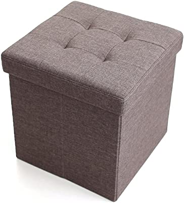 Amazon Com Jameson Double Storage Ottoman With Tray
