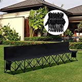 Yaheetech 8 Seats Portable Folding Bench for