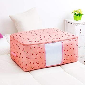 Amazon.com: Treslin Blanket Storage Trunk,Bolsa de Tela ...