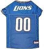 Pets First NFL DETROIT LIONS DOG Jersey, Large