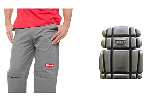 c40c136558 Burson work pants with built-in removable Super Cushion knee pads 30x30