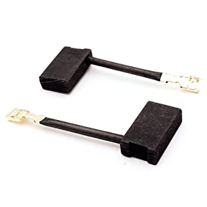 Replacement Part 381028-08 381028-02 Motor Carbon Brushes (1 pair) for DeWalt Power Tools, Electric Tools, Circular Saw, Miter Saw, Table Saw, DW717, DW718, DWS780