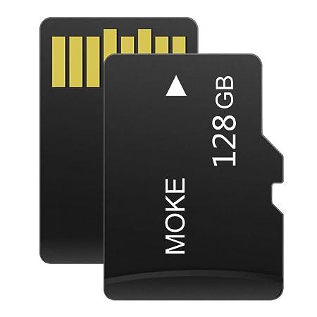 MOKE 4 GB / 8 GB / 16 GB / 32 GB / 64 GB / 128 GB / 256 GB Micro Sd Tf Microsd Tf tarjeta de memoria con adaptador Sd (128GB): Amazon.es: Electrónica