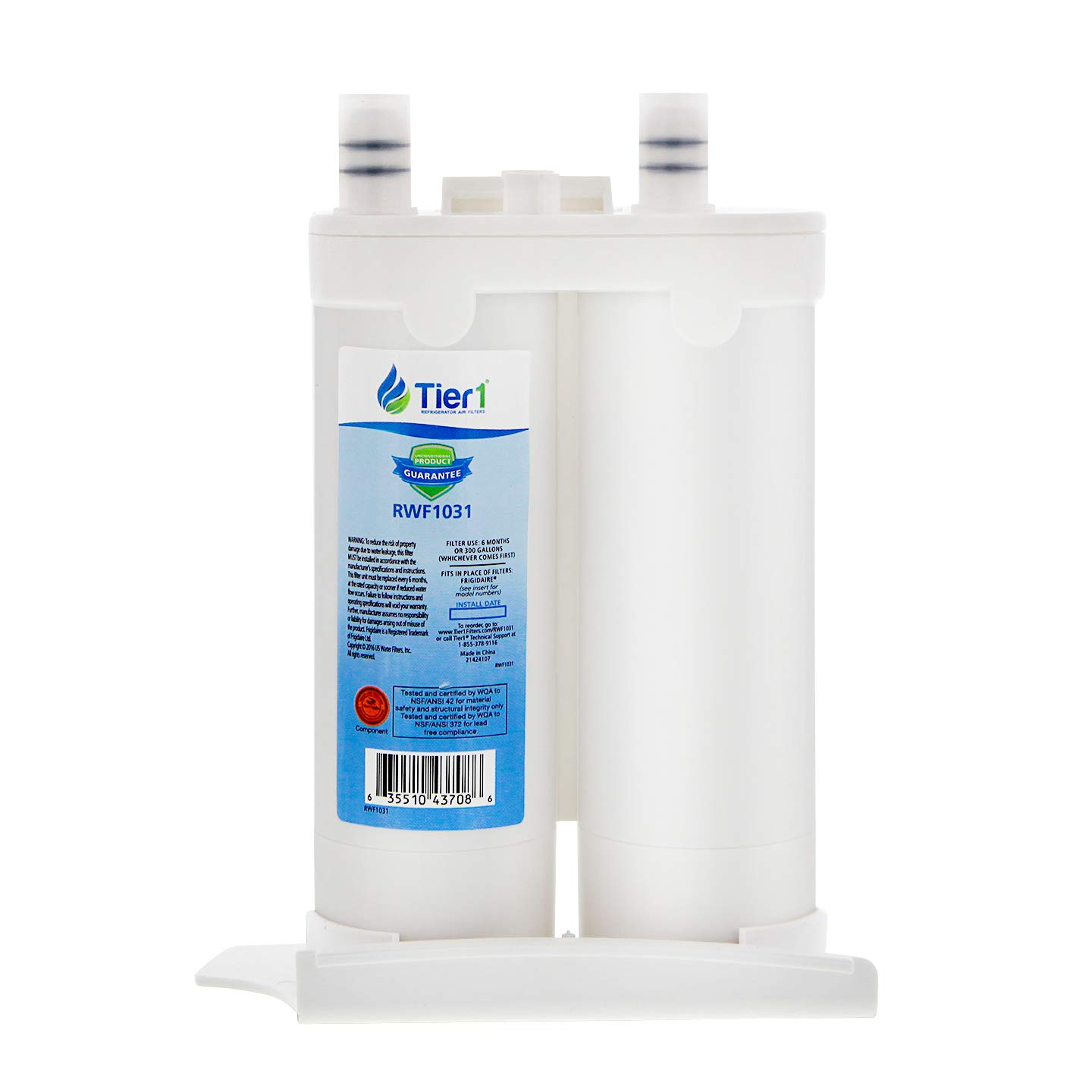 Tier1 Replacement for Frigidaire WF2CB PureSource2, NGFC 2000, 1004-42-FA,  469911, 469916, FC 100 Refrigerator Water Filter