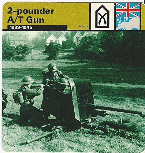 1977 Edito-Service, World War II, 53.17 2-Pounder Anti Tank Gun