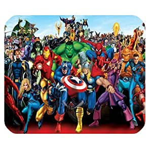 Custom Marvel Comics Avengers High Quality Printing Square Mouse Pad Design Your Own Computer Mousepad