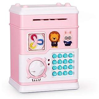 MoFun elettronico Automatico Piggy Bank ATM Password Denaro Cassa della Moneta di Risparmio di Sicurezza in Camera Story Giocattoli educativi per i Bambini Fantasyworld