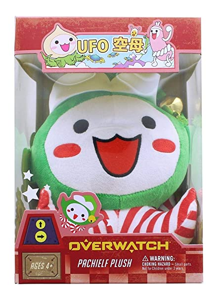 Overwatch Christmas.Official Overwatch Pachimari Pachielf 7 Christmas Plush Toy In Package From Blizzard Entertainment