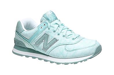 New Balance WL574SW - Zapatillas para mujer: Amazon.es: Zapatos y complementos