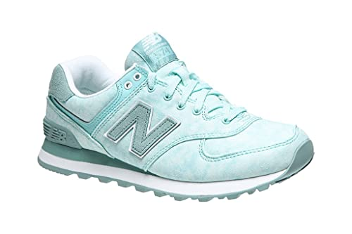 New B Balance Para Wl574swb Zapatillas MujerAzulturquoise eED29WIYbH