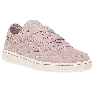 f0f8ff13210 Amazon.com  Reebok Club C 85 Fbt Decon Womens Sneakers Pink  Clothing
