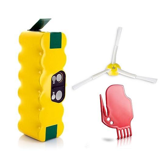 384 opinioni per Morpilot Batteria di Ricambio Ni-MH 3800mAh per Aspirapolvere iRobot Roomba 500