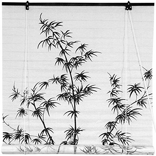 Oriental Furniture Bamboo Tree Shoji Blinds - (48 in. x 7...