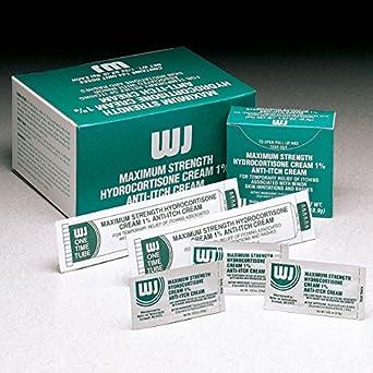 Amazon com: Hydrocortisone Cream, Box, 0 03 oz , PK144: Industrial