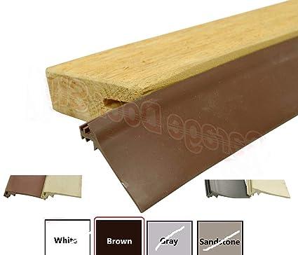 Superbe Thaisan7, Custom Garage Door Trim Seal   Wood Door Stop Insert, Length: 30