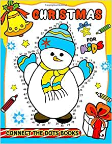 Christmas Connect the Dots Books for Kids: Activity book ...