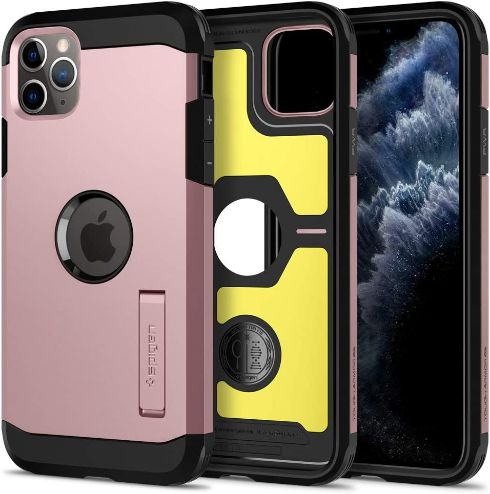 Spigen Tough Armor Designed for iPhone 11 Pro Max Case (2019) - XP Rose Gold