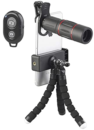 Somikon - Juego de adaptadores de Objetivo para Smartphone (11 ...