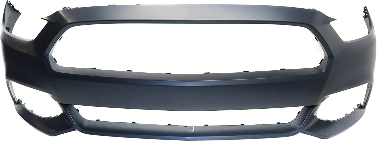 Front Bumper Cover Compatible with FORD MUSTANG 2015-2017 Primed Convertible//Coupe