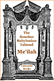 Talmud Me'ilah Tamid Middoth and Kinnim (Soncino Babylonian Talmud Book 48)