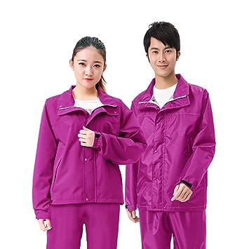Pantalon Costume Imperméable De Homme Geyao Pluie KFc1Jl