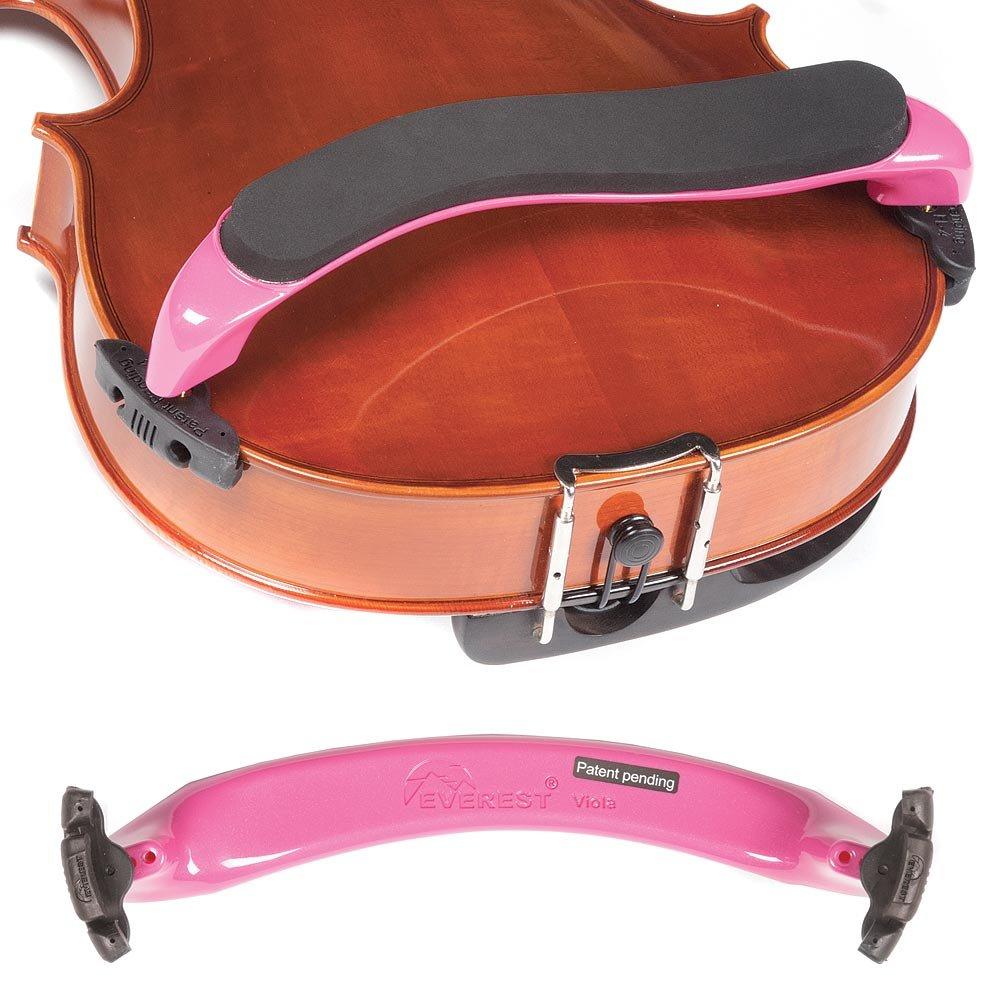 Everest Pink ES Series 15''-16.5'' Viola Adjustable Shoulder Rest by Everest (Image #1)