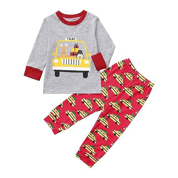 K-youth Disfraz Navidad Niño Bebe 6 Meses a 4 Años Pijamas Conjunto Bebe Niña
