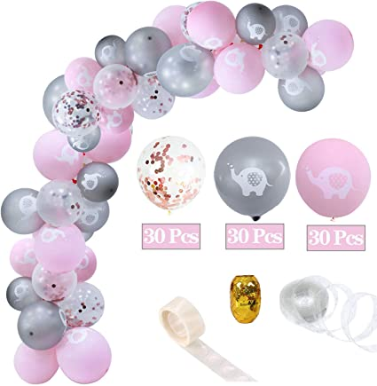 Amazon Com 93 Pieces Pink Elephant Baby Shower Decorations Pink Elephant Party Balloons For Girl Baby Shower And Girl Birthday Party Decorations Balloon Ribbon Balloon Tape Strip Balloons Arch To Elephant Themed Party,Modern Victorian Era Furniture