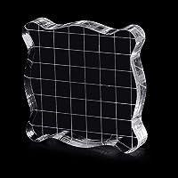 Ycncixwd - Bloque de acrílico transparente para manualidades
