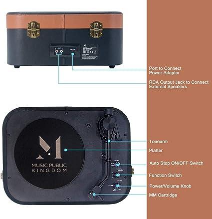 Amazon.com: Reproductor de grabaciones Bluetooth ...